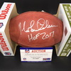 HOF - Saints Morten Andersen Signed Authentic Football