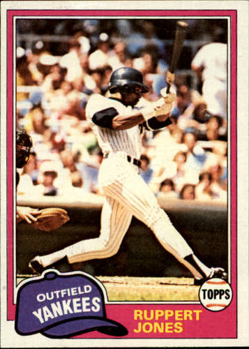 Photo of 1981 Topps #225 Ruppert Jones