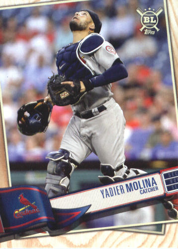 Photo of 2019 Topps Big League #338 Yadier Molina