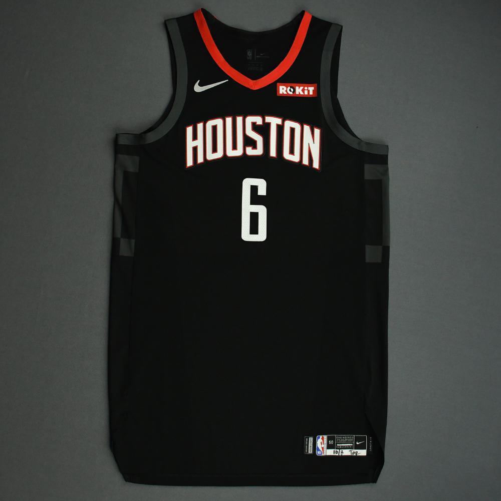 Gary Clark - Houston Rockets - Game-Worn Statement Edition Jersey - NBA Japan Games - 2019-20 NBA Season