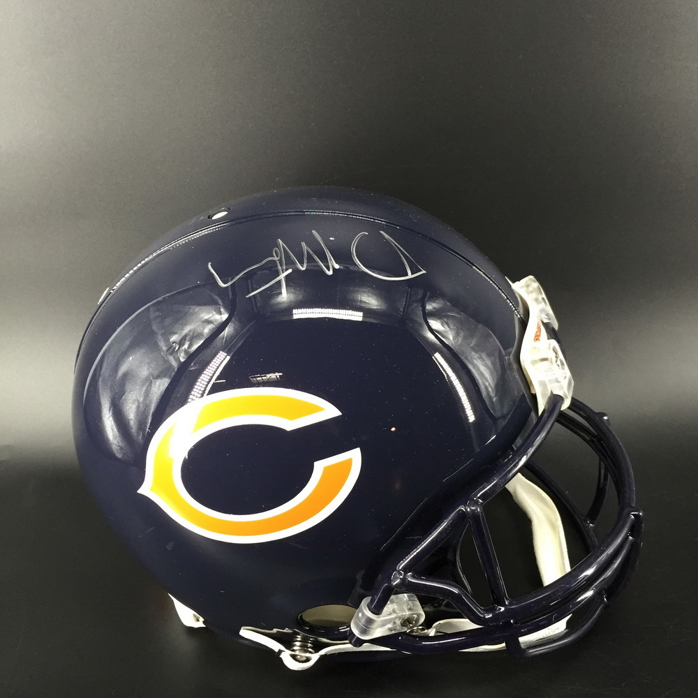 NFL - Bears David Montgomery Signed Proline Helmet