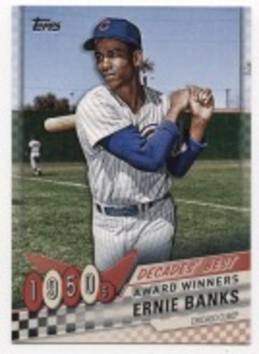 Photo of 2020 Topps Decades' Best #DB2 Ernie Banks