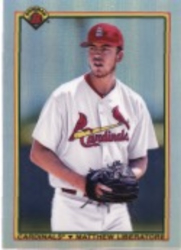 Photo of 2020 Bowman Chrome '90 Bowman #90BML Matthew Liberatore