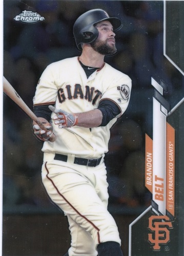 Photo of 2020 Topps Chrome #147 Brandon Belt