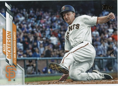 Photo of 2020 Topps #418 Alex Dickerson