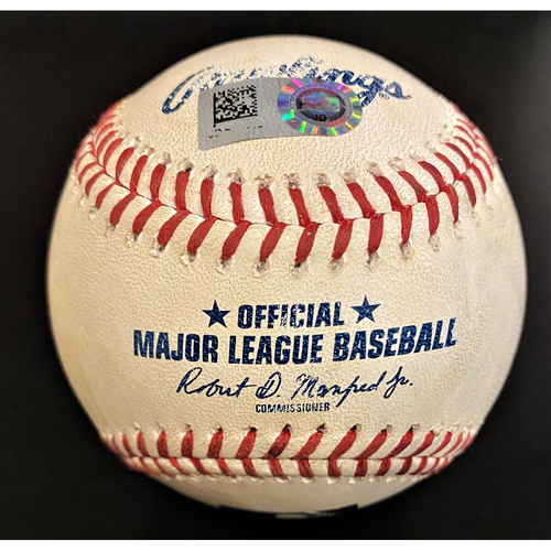 Photo of Game-Used Baseball:  Maikel Franco Kansas City Royals Double (MLB AUTHENTICATED)