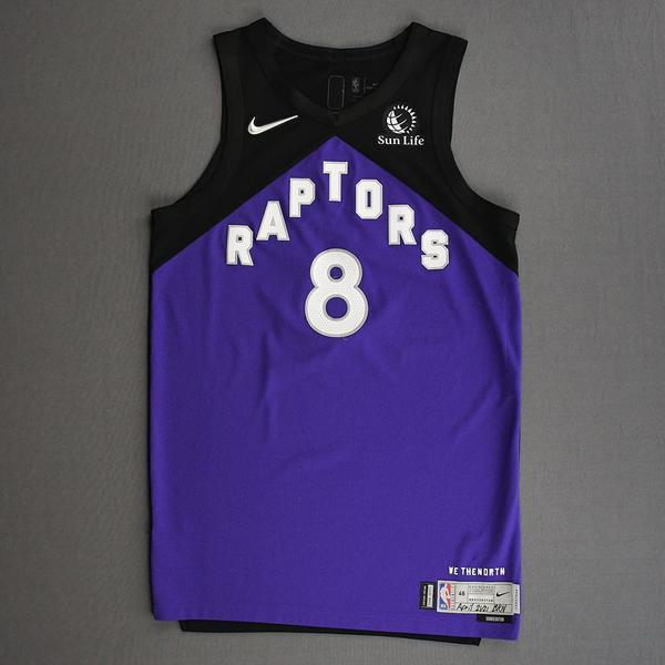 Image of Malachi Flynn - Toronto Raptors - Game-Worn Earned Edition Jersey - 2020-21 NBA Season