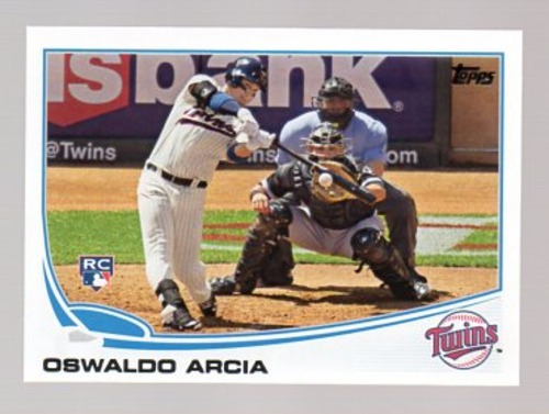Photo of 2013 Topps Update #US317 Oswaldo Arcia RC