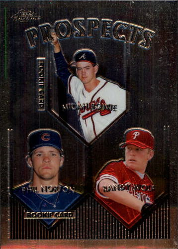 Photo of 1999 Topps Chrome #428 M.Bowie/P.Norton RC/Wolf