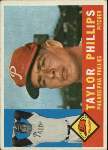 Photo of 1960 Topps #211 Taylor Phillips