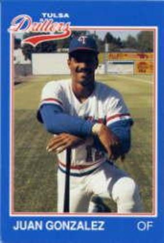 Photo of 1989 Tulsa Drillers Grand Slam #10 Juan Gonzalez