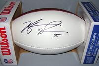 NFL - BILLS KYLE WILLIAMS SIGNED PANEL BALL