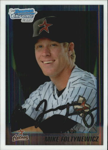 Photo of 2010 Bowman Chrome Draft Prospects #BDPP71 Mike Foltynewicz Pre-Rookie Card