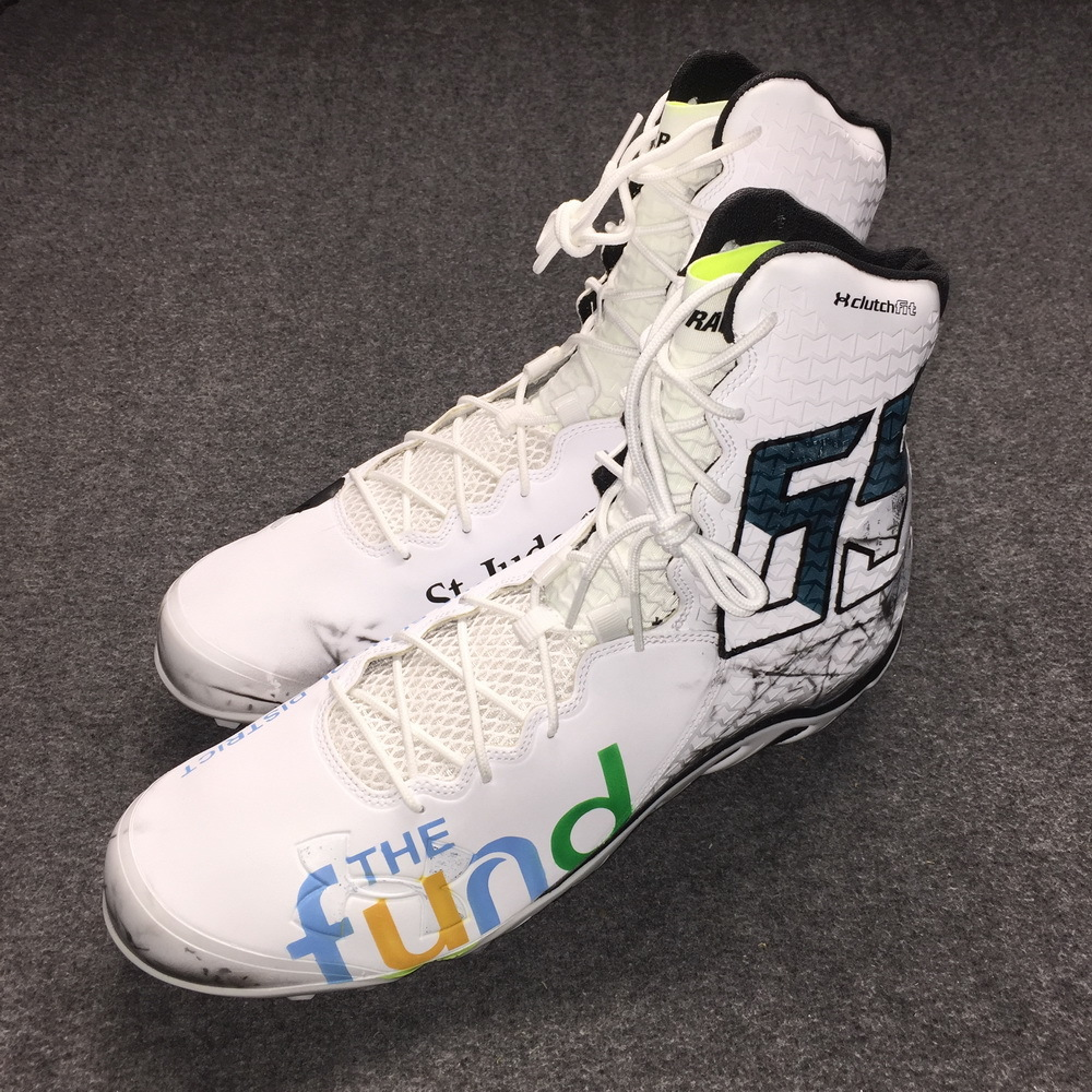 My Cause My Cleats - Eagles Lane Johnson game issued custom cleats (December 3, 2017)