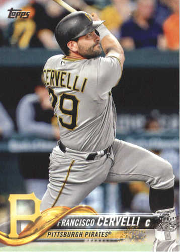 Photo of 2018 Topps #527 Francisco Cervelli