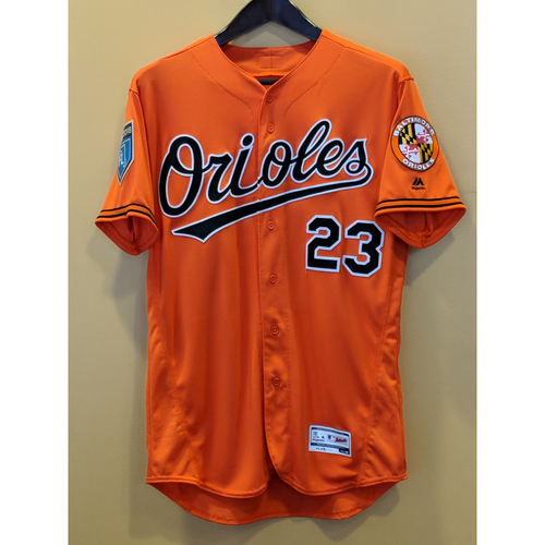 Photo of Joey Rickard - Spring Training Jersey: Game-Used