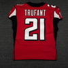 Crucial Catch - Falcons Desmond Trufant game worn Falcons jersey (October 15, 2017)