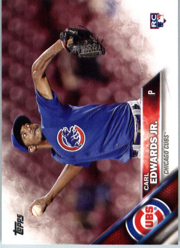Photo of 2016 Topps #640 Carl Edwards Jr. Rookie Card