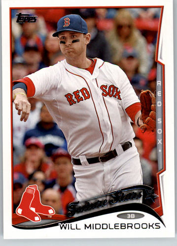 Photo of 2014 Topps #136A Will Middlebrooks FS