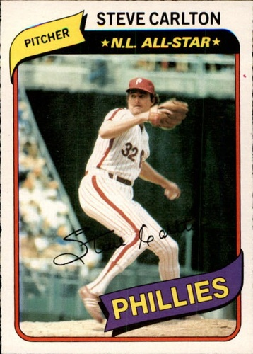 Photo of 1980 O-Pee-Chee #113 Steve Carlton