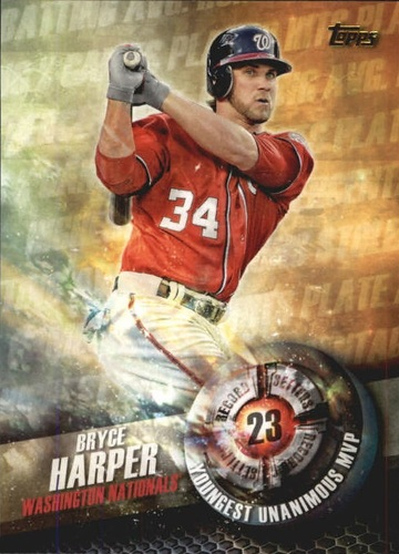 Photo of 2016 Topps Record Setters #RS12 Bryce Harper