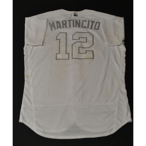 "Photo of Martin ""MARTINCITO"" Maldonado Houston Astros Game-Used 2019 Players' Weekend Jersey"