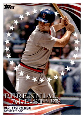 Photo of 2019 Topps Update Perennial All Stars #PAS11 Carl Yastrzemski