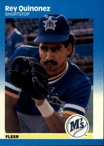 Photo of 1987 Fleer #595 Rey Quinones