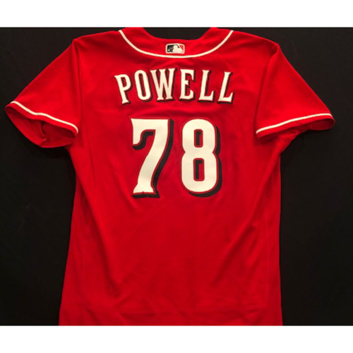 Photo of Boog Powell -- 2020 Spring Training Jersey -- Team-Issued -- Size 44