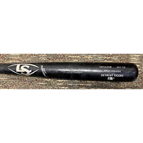 Photo of Austin Romine Detroit Tigers Game-Used Eric Haase Player Model Cracked Bat (MLB AUTHENTICATED)
