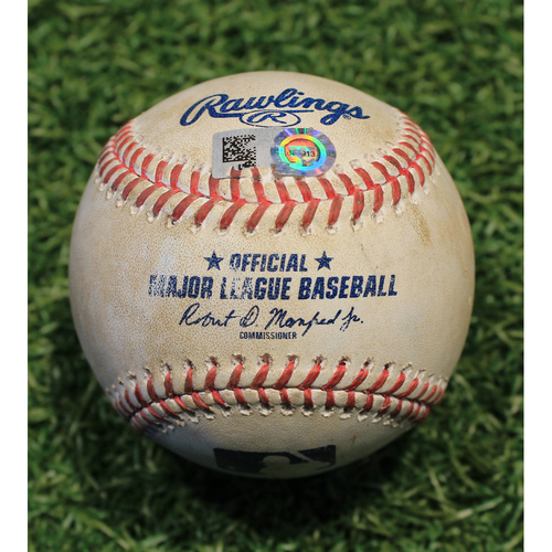 Photo of Game-Used Baseball: Collin Moran 283rd Career Hit (PIT @ KC 9/13/20)