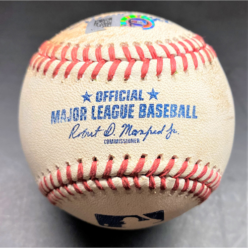 Photo of Game-Used Baseball: Isaac Paredes Detroit Tigers Rookie Single (MLB AUTHENTICATED)