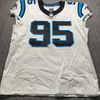 Crucial Catch - Panthers Derrick Brown Game Used Jersey (10/4/20) Size 48
