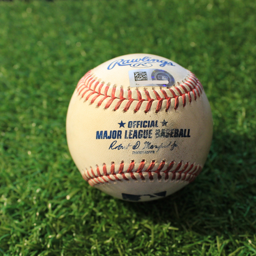 Photo of Game-Used Baseball: Carlos Rodon 563rd Career Strikeout (CWS@KC 5/7/21)