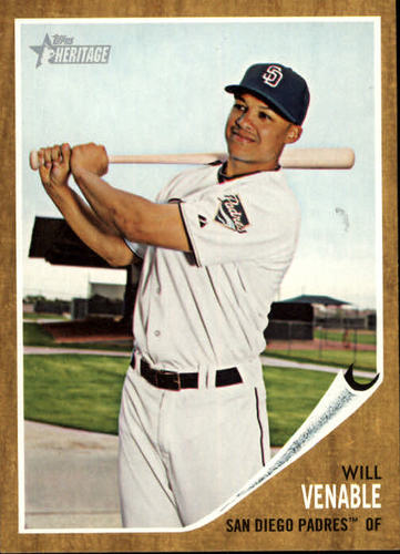 Photo of 2011 Topps Heritage #274 Will Venable