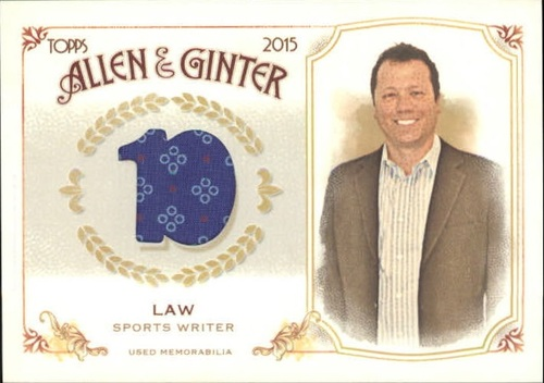 Photo of 2015 Topps Allen and Ginter Relics #FSRBKL Keith Law B