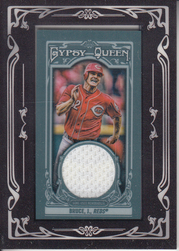 Photo of 2013 Topps Gypsy Queen Framed Mini Relics #JB Jay Bruce