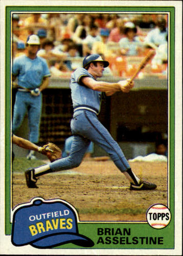 Photo of 1981 Topps #64 Brian Asselstine