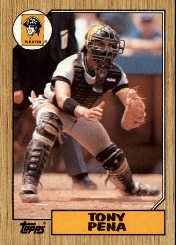 Photo of 1987 Topps #60 Tony Pena