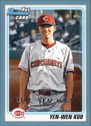 Photo of 2010 Bowman Prospects Blue #BP80 Yen-Wen Kuo