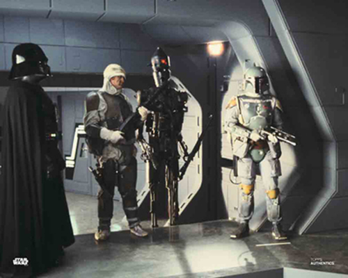 Darth Vader, Dengar, IG-88 and Boba Fett