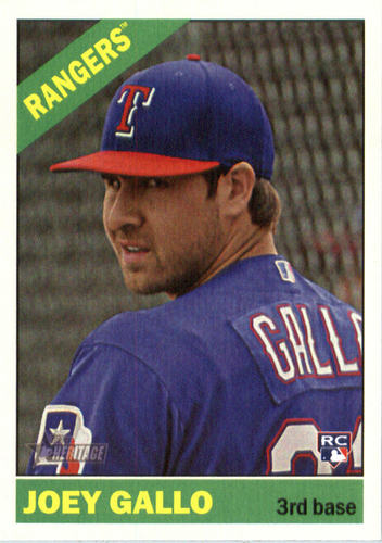 Photo of 2015 Topps Heritage Joey Gallo Rookie Card