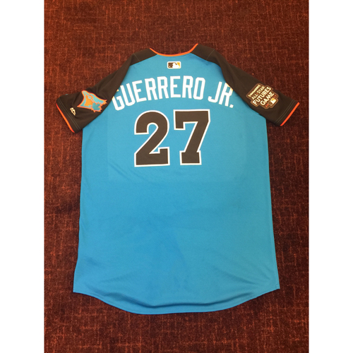 2017 All-Star Futures Game Auction: Vlad Guerrero Jr. Batting Practice Used Top