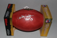 HOF - CHIEFS CURLEY CULP SIGNED AUTHENTIC FOOTBALL