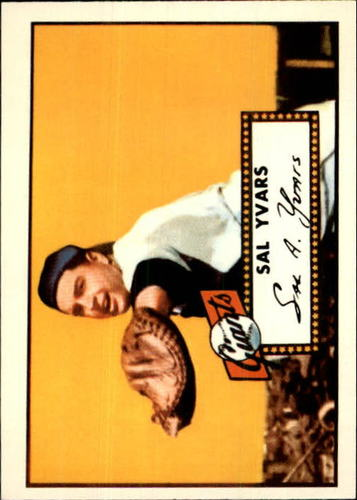 Photo of 1983 Topps 1952 Reprint #338 Sal Yvars