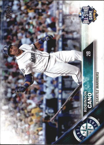Photo of 2016 Topps Update #US262A Robinson Cano AS