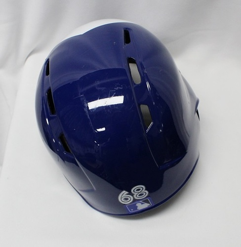 Photo of Authenticated Game Used Helmet - #68 Rowdy Tellez (September 5, 2018: 1-for-1 with 1 Double and 1 RBI. MLB Debut). Size 7 1/2.