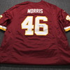 REDSKINS - ALFRED MORRIS SIGNED REDSKINS REPLICA JERSEY SIZE LARGE