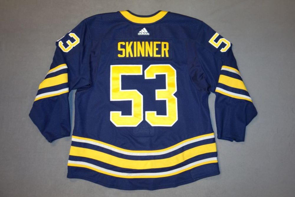 low priced db57c 674ca Jeff Skinner 2018-19 Buffalo Sabres Set 1 Home Jersey - NHL ...