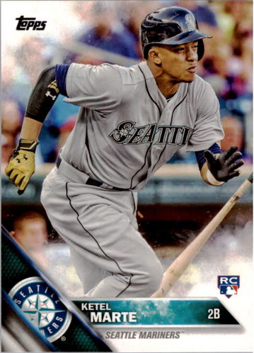 Photo of 2016 Topps #73 Ketel Marte Rookie Card